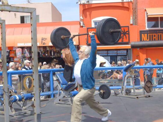 entrainement sportif personne âgée
