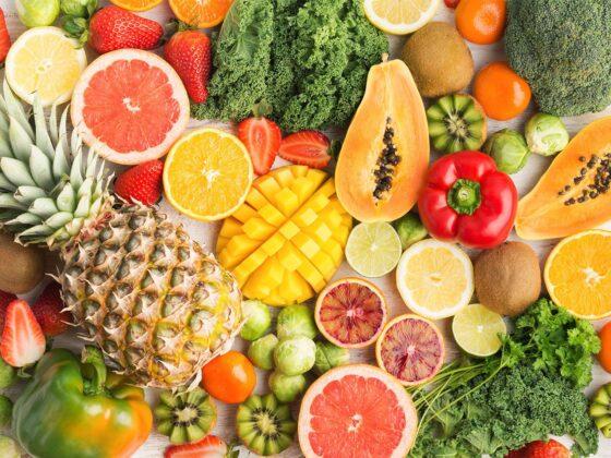 fruits légumes frais