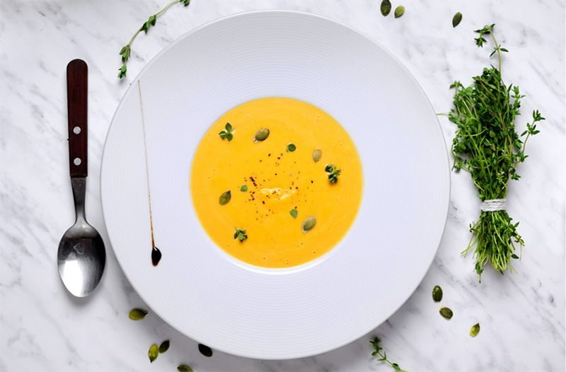 soupe courge butternut