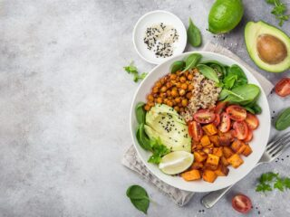 bowl végétalien sain