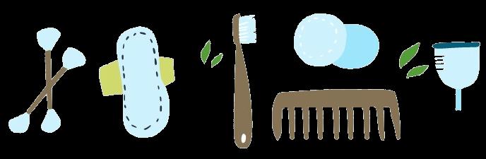 objet douche écologique vegan