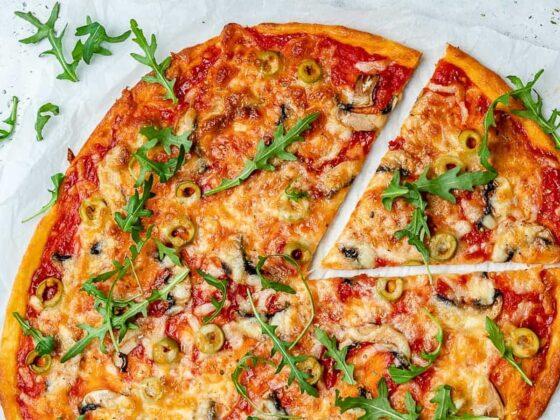 recette pizza low carb keto