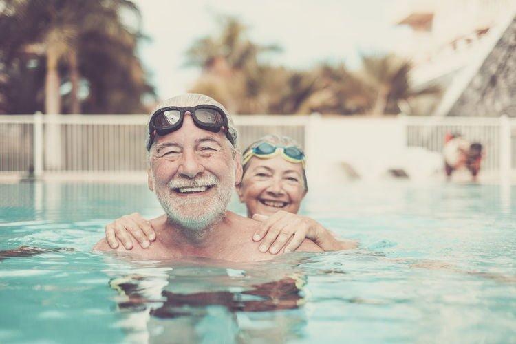 sport amoureux natation