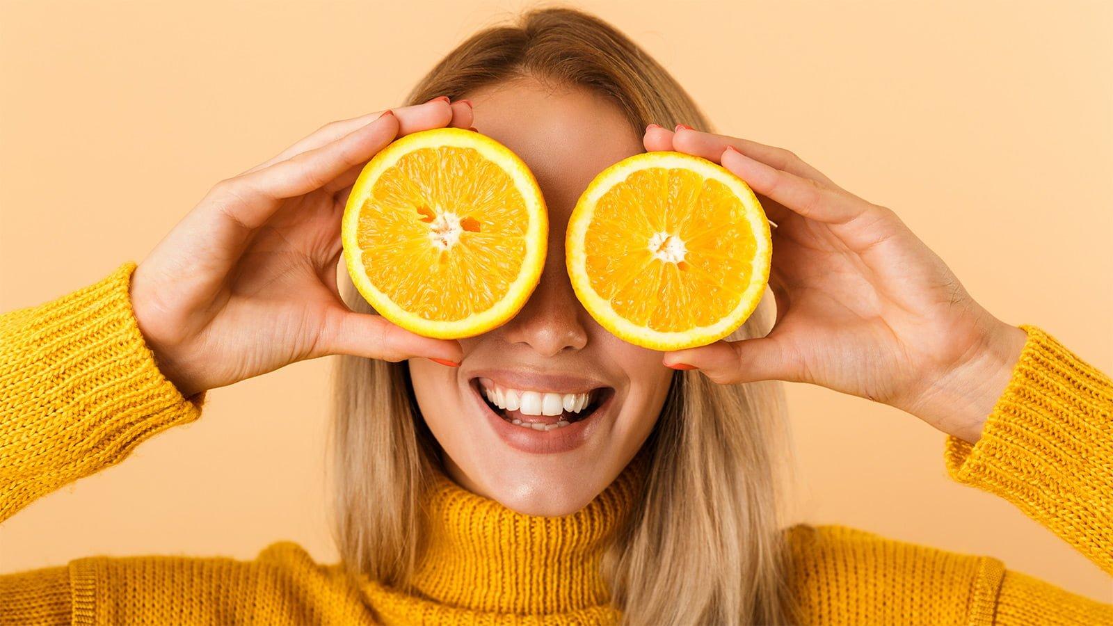 femme orange système immunitaire