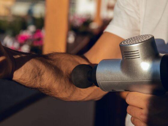 pistolet de massage muscles fascia