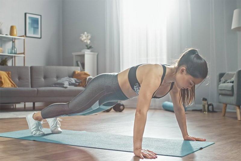pompe musculation femme