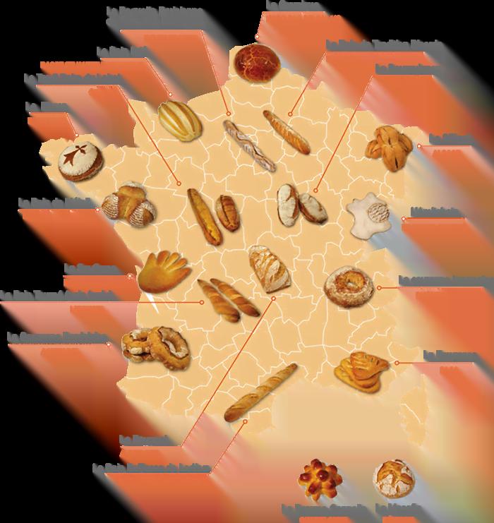 carte pains France