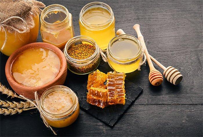 produits dérivés du miel abeilles
