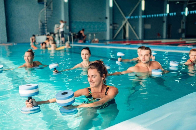 cours collectifs piscine