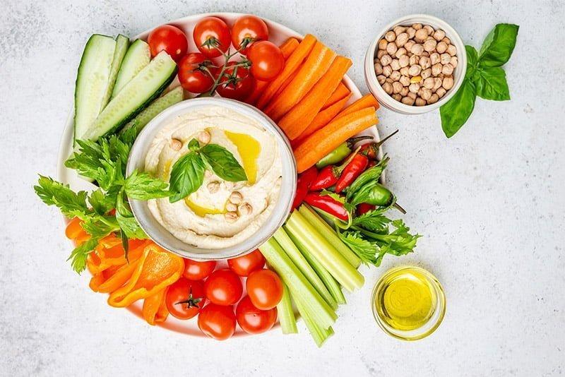 légumes croquer apéritif