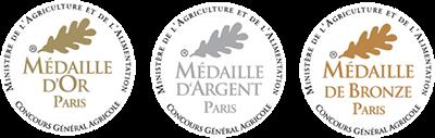 logo médailles concours général agricole