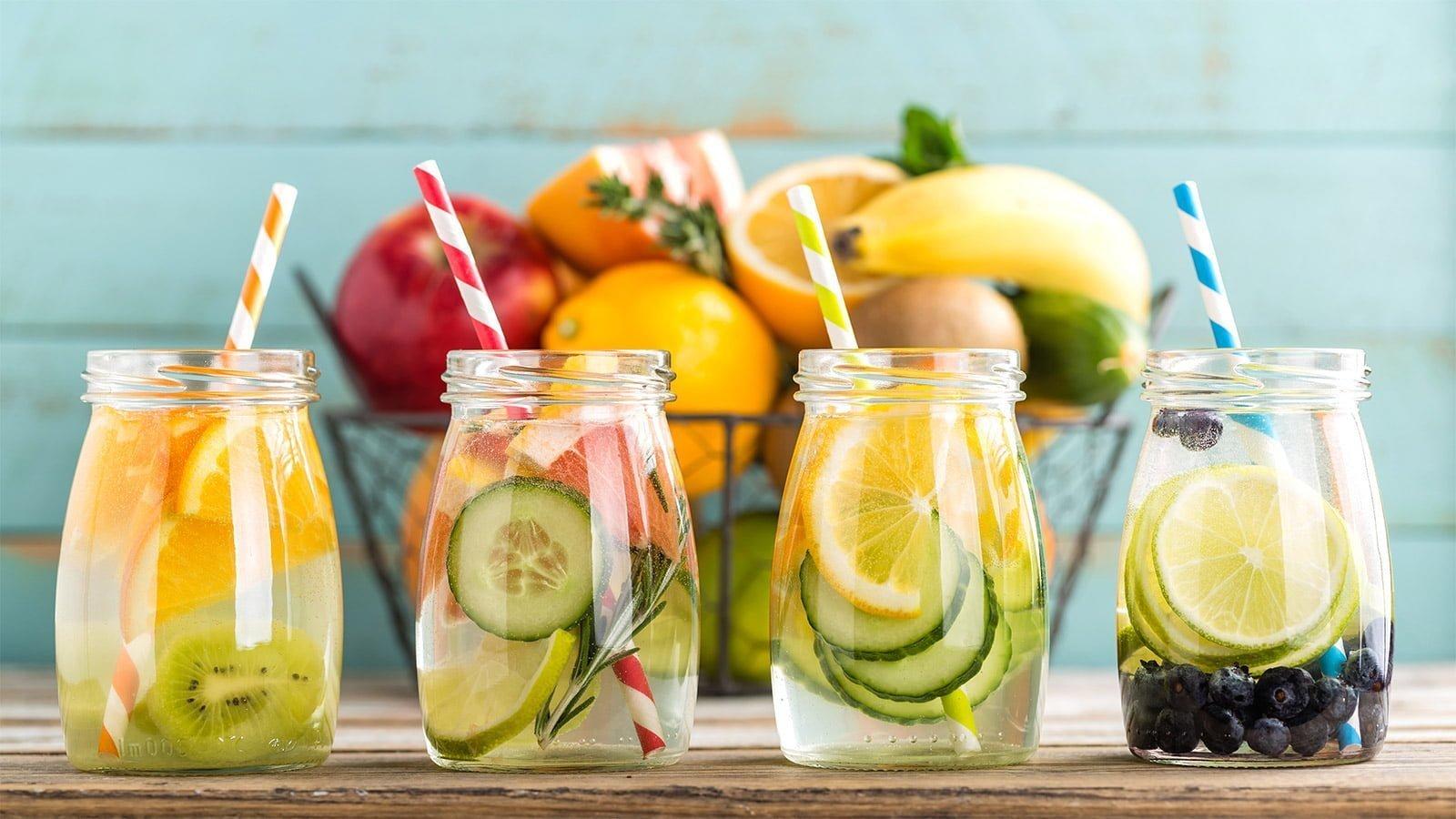 recettes eaux aromatisées