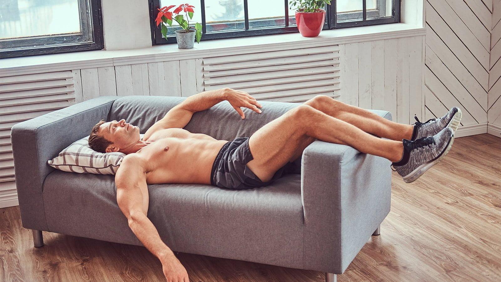 sommeil homme sport