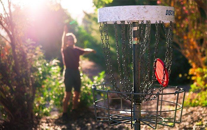 parcours disc golf