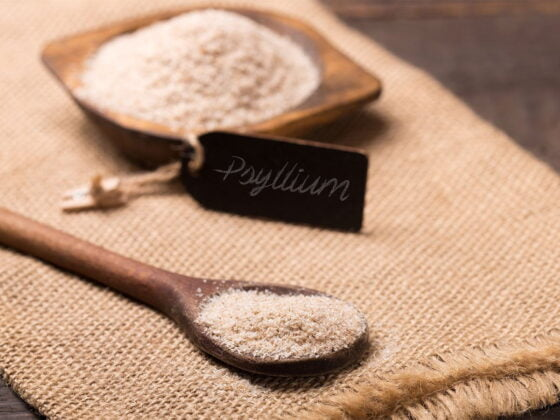psyllium husk fibres